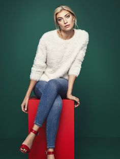 Our fluffy knitted sweater | Gina Tricot Collections | www.ginatricot.com | #ginatricot