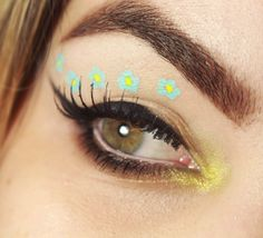 Tutorial – maquiagem florida para o Carnaval