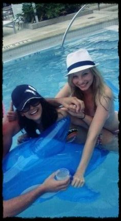 Candice and Nina ♥