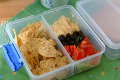 Mediterranean Nachos- A healthy office snack! via Whipped #health #wellnessintheworkplace