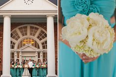 Sam : Adam | Daniel Taylor Photography | Teal Wedding Party