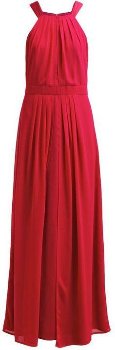 """Pin for Later: Die 45 schönsten Kleider (& 5 coole Jumpsuits) für den besten Abiball aller Zeiten  Esprit """"New Fluid"""" Maxikleid """"cherry red"""" (120 €)"""