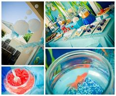 Under the Sea Water Party