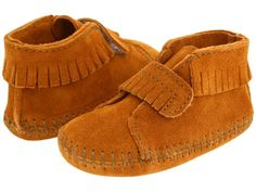 c990c0194 Minnetonka Baby Front Strap Bootie (Infant Toddler) -- fits my baby s  chubby feet!