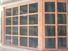 1000 images about ventanas on pinterest san vicente for Ventanas aluminio imitacion madera