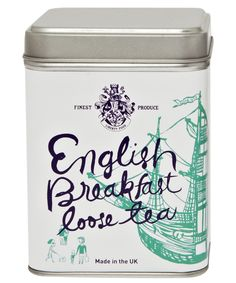English Breakfast Loose Tea Tin, Exclusive Liberty Food. Shop more Christmas Food Gifts from the Christmas Shop at Liberty.co.uk