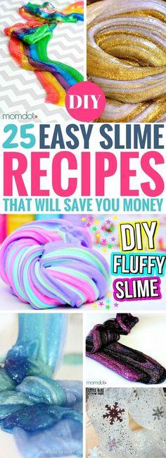 def230139862 40 Best DIY Slime Ideas For Kids That Are Beyond Genius