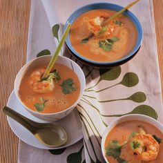 Rezept: Scampi-Kokos-Suppe - [LIVING AT HOME]