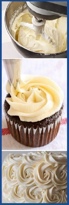 Trendy Ideas For Bread Sweet Butter Cupcake Recipes, Cupcake Cakes, Dessert Recipes, Sweet Butter, Exotic Food, Sweet And Salty, Cream Cake, No Bake Desserts, Cake Cookies