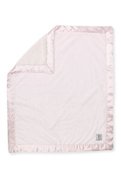 Luxe blanket with satin trim. Little giraffe from nordstrom. Also comes in silver cream or blue.