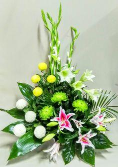 Centros de flores para cementerios