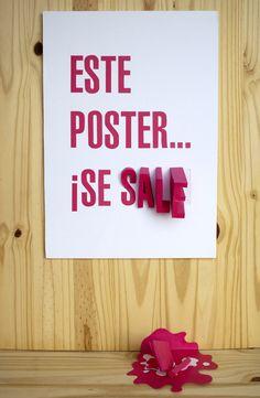noelia lozano, este poster se sale