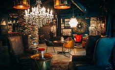 Hospitality Design - Photos: Los Angeles Athletic Club's Blue Room