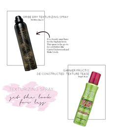 drugstore dupe: oribe texturizing spray