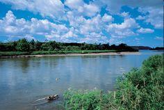 Platte river in Nebraska