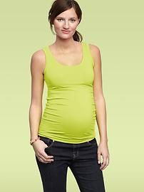 Maternity Ts & Camis: long-sleeve T-shirts, short-sleeve tees, sleeveless T's, camisoles at GapMaternity   Gap