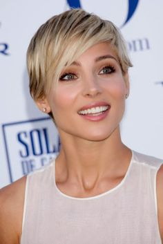 Short Edgy Hairstyles Round Face 2014