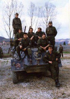 "First Bijeljina Light Infantry Brigade (Special Brigade Garda ""Panthers"")."