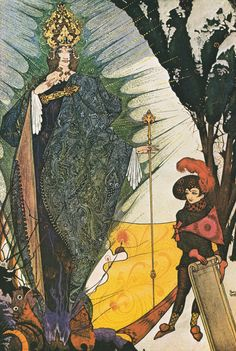 Illustration for The Snow Queen by Harry Clarke