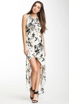 Hi-Lo Hem Maxi Dress by Go Couture on @HauteLook