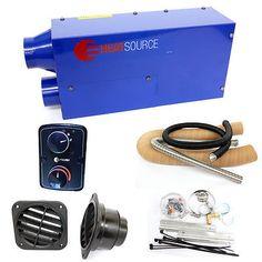 12v Propex Heatsource HS2000 Blown Air Heater, MOTORHOME CAMPER BOAT CARAVAN GAS