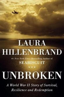 Unbroken: A World War II Story of Survival, Resilience, and Redemption By: Laura Hillenbrand.   -a heavy read, but worth it!