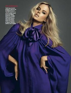 Oversized Peek-a-Boo Fashion : Shannan Click Vogue Latin America