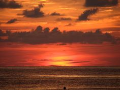 Sundown, Colour Up: Sundown, Colour Up Image by christa_line Sunset over the China Sea, taken in Borneo… #landscape_photos #Colour #Sundown