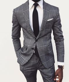 "430 Likes, 8 Comments - Mens Fashion & Suits (@suitsharks) on Instagram: ""#highfashionblackmen • @el.vino"""