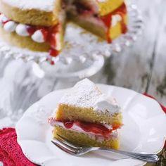 Victoria cake vegana senza glutine