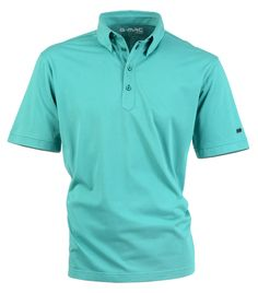 $90 Ardglass in Jade- Golf shirt with contrast colour tailors stitching on collar, plackette and cuff. 63% Pima Cotton 37% Polyester