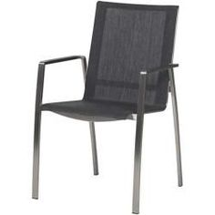 Stern Evoee Stapelsessel Aluminium Taupe/Kieselgrau SternStern - List of the best garden decor Balcony Chairs, Garden Chairs, Outdoor Chairs, Outdoor Furniture, Outdoor Decor, Teak, Stacking Chairs, Diy Chair, Chair Cushions