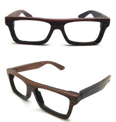 TAKEMOTO handmade vintage EBONY wood glasses by TAKEMOTO on Etsy