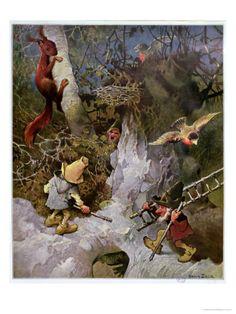 Gnomes by Heinrich Schlitt