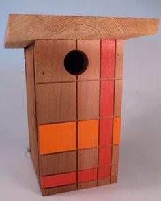 Modern Birdhouse. Original design by chürp.. $49.00, via Etsy.
