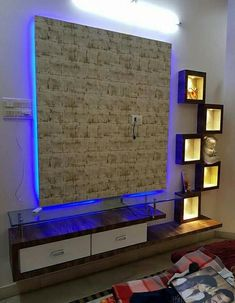 Lcd Wall Design, Stone Wall Design, Wall Shelves Design, Ceiling Design, Modern Tv Cabinet, Modern Tv Wall Units, Modern Tv Unit Designs, Tv Unit Decor, Tv Wall Decor