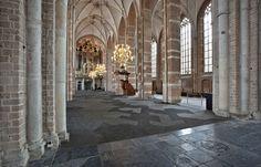 Bolon flooring in Lebuïnuskerk Church in Deventer, Netherlands