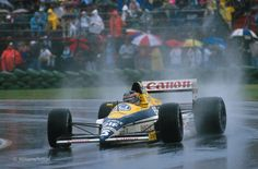 Thierry Boutsen, Williams-Renault FW12C, 1989 Canadian GP, Montreal
