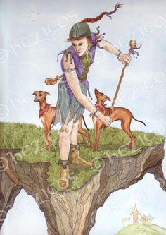 The Fool from Hezicos Tarot