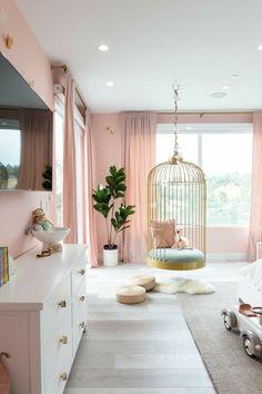 Kids Bedroom Dream, Luxury Kids Bedroom, Small Room Bedroom, Room Decor Bedroom, Girls Bedroom, Bedroom Ideas, Small Rooms, Girl Rooms, Childs Bedroom