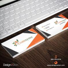 Stunning #Stationary Design for Comzyme by #DesignVation Experts. Get Your Stationary done today. Visit: http://www.designvation.com/  #logo #logodesign #branding #design #DesignVation