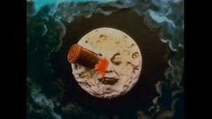 """Viaje a la luna """"Le Voyage dans la lune"""" (1902) Ciclo Méliès"""