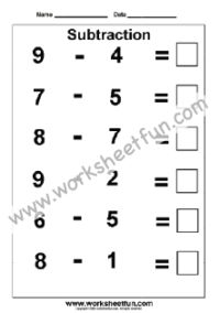 Subtraction Worksheets / FREE Printable Worksheets Subtraction Kindergarten, Subtraction Worksheets, Kindergarten Worksheets, Free Printable Worksheets, Free Printables, Number Line Subtraction, Word Problems, Reading Comprehension, Sentences