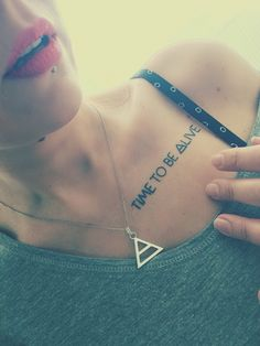 Time to be alive ! 30 seconds to Mars Tattoo