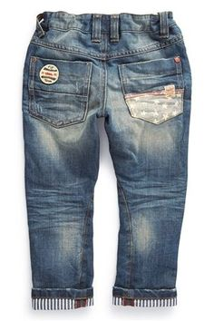 Buy Badged Varsity Jeans (3mths-6yrs) from the Next UK online shop