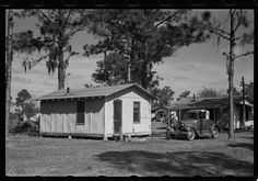 Winter Haven tourist camp 1938