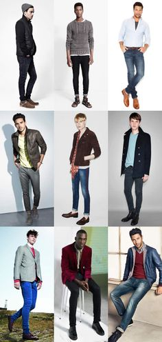 that an older gent would be better off with the wider end of the scale, but should that prevent you from experimenting? As with anything in fashion, you buy the clothes that suit you: your body, your style and your look. Skinny jeans shouldn't necessarily