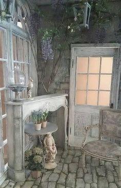 ドールハウス ミニチュアなどの製作日記