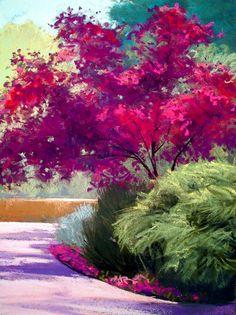 Landscape Painting in Pastels: CHAPTER TWELVE – FOLIAGE