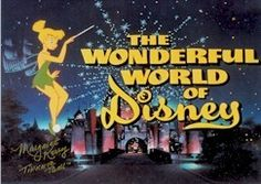 The Wonderful World of Disney - every Sunday night!!